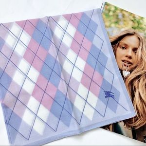 Burberry Mini Scarf/Handkerchief in BB monogram